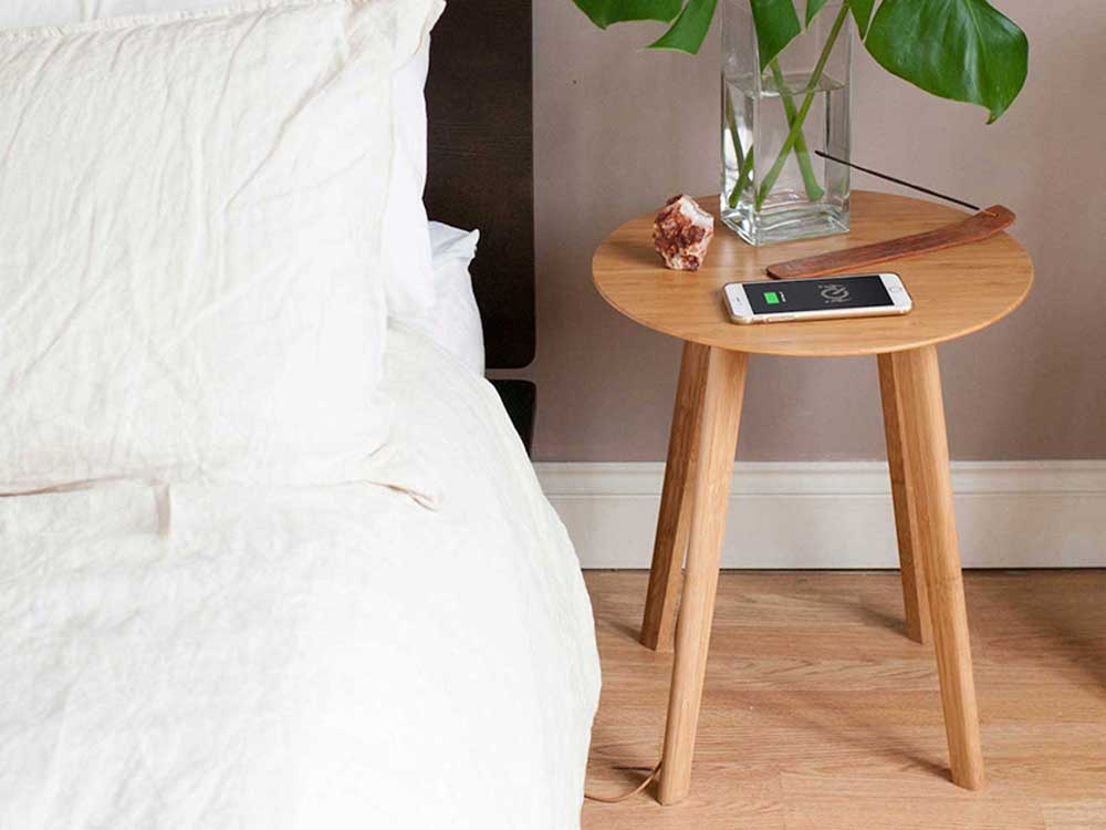 Image credit: Bamboo side table by FurniQi