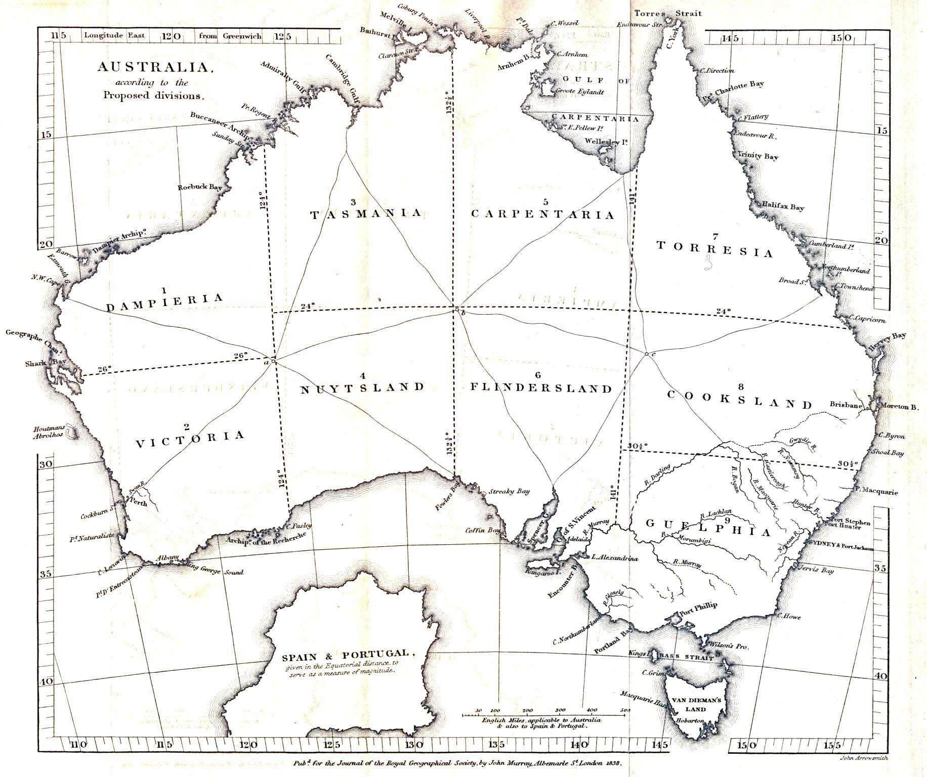 Map Of Australia 1830.Map Of Australia 1830 Twitterleesclub