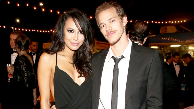 Naya Rivera and Ryan Dorsey in October 2014.