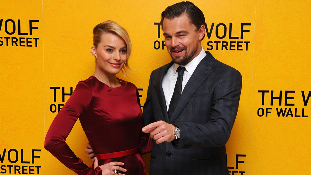 """Margot Robbie gave Leonardo DiCaprio a """"thunderclap of a slap"""" in Wolf of Wall Street audition"""