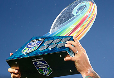 Auckland Nines trophy (Getty)