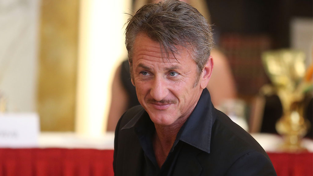 US actor Sean Penn met with Guzman in October.