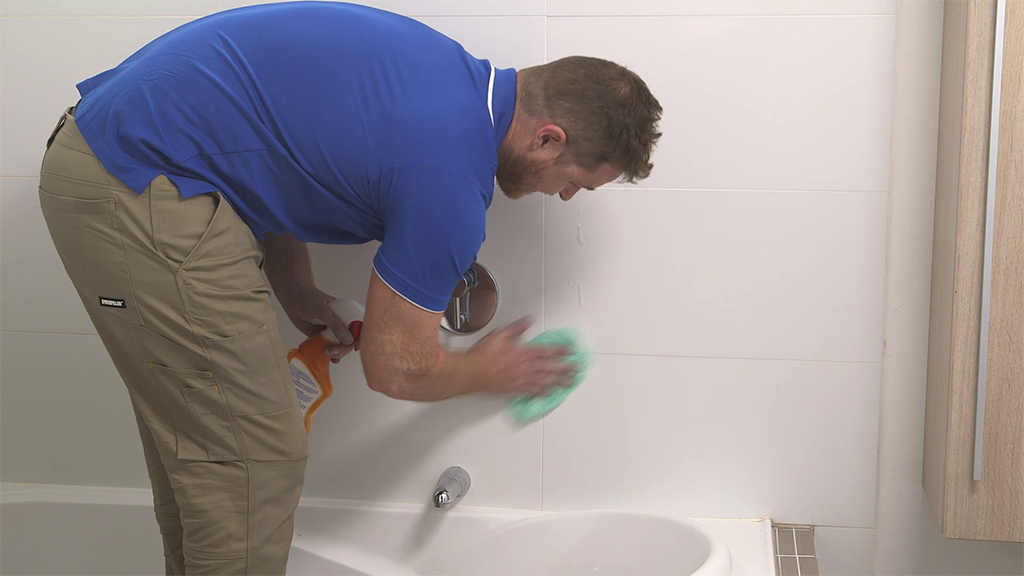 how to regrout your tiles 1 clean walls to get rid of any residual soap scum