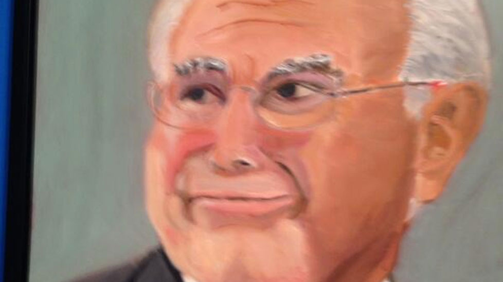 John Howard as seen by George W Bush. (Twitter/Nick Bryant)