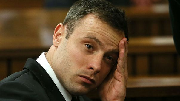 Oscar Pistorius shot model girlfriend Reeva Steenkamp four times on Valentine's Day 2013. (AAP)