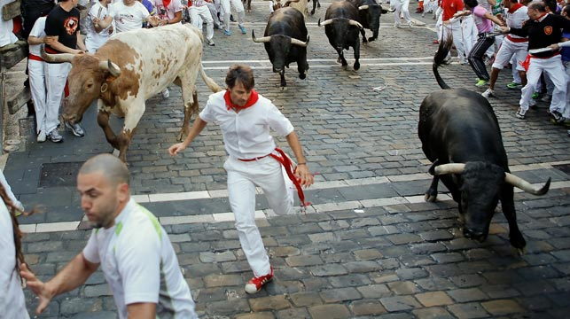 Spanish Bull Run Deaths as Spanish Bull-run Deaths
