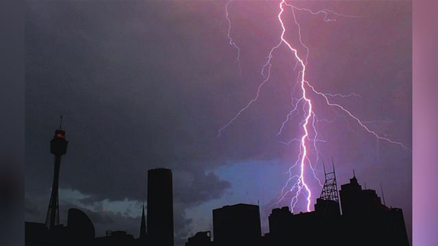 In pictures: Storms savage Sydney for second day