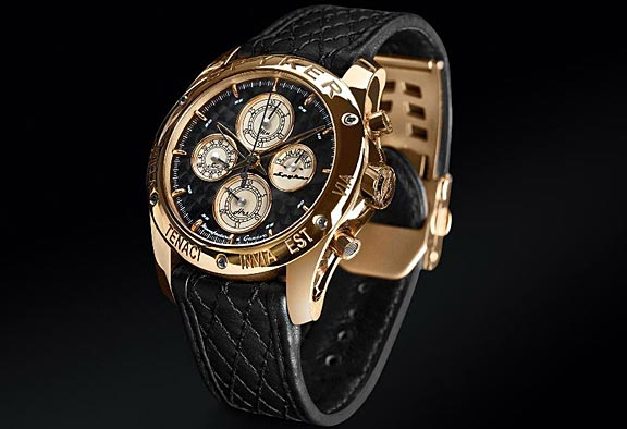 The Spyker timepiece