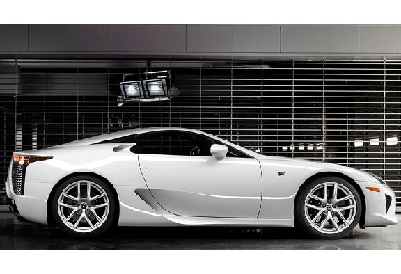 The Lexus LFA