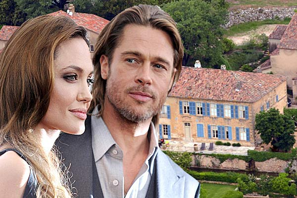 Brad Pitt, Angelina Jolie and their French chateau