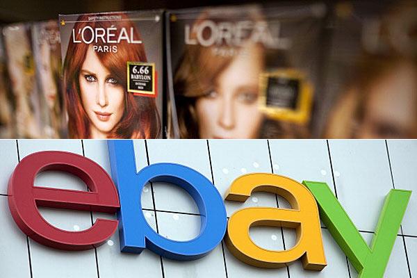 eBay, L'Oreal