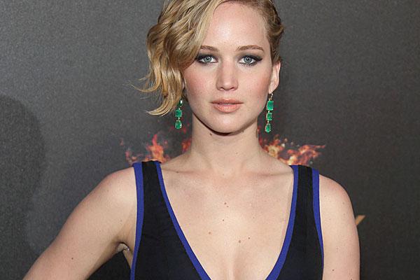 US actor Jennifer Lawrence.