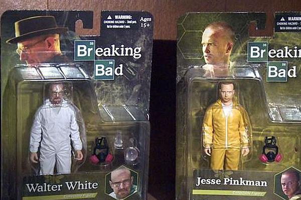 Breaking Bad toys.