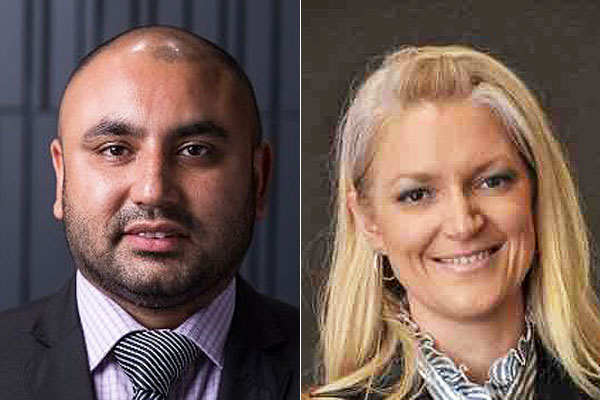 Vikram Chopra and Kristen Greber (LinkedIn)