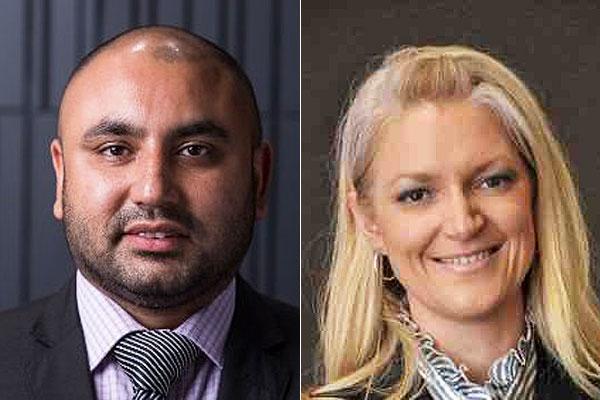 Vikram Chopra and Kristen Greber (LinkedIn)