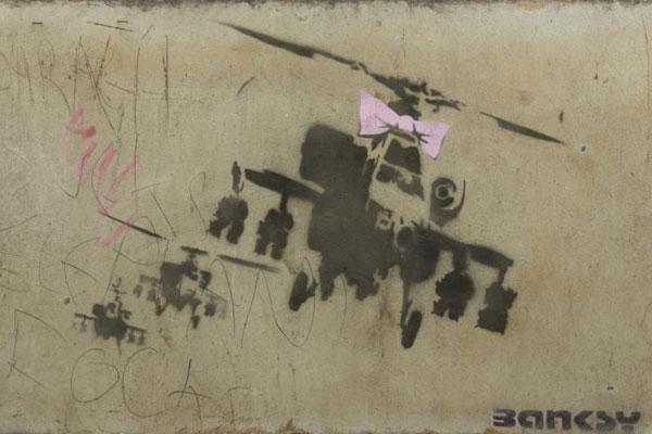 Banksy's Happy Chopper (Julien's Auctions)