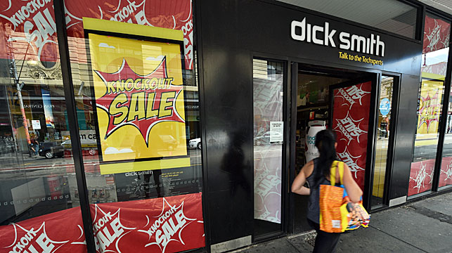 Dick Smith collapsed in January owing more than $400 million to creditors. (AAP)