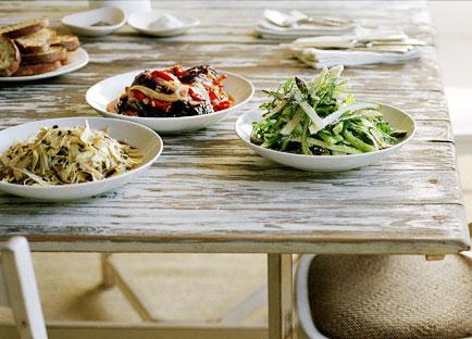 Globe artichoke salad
