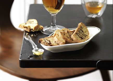 Honeyed walnut cantucci