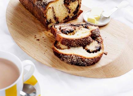 Chocolate and hazelnut babka