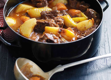 Andalucian lamb stew with saffron