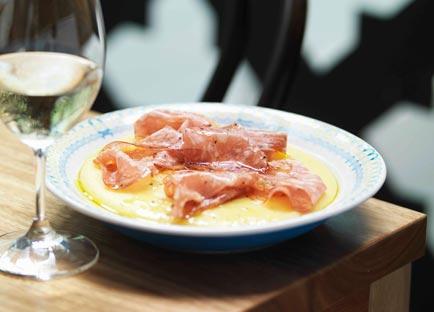 Guy Grossi: Polenta with sopressa