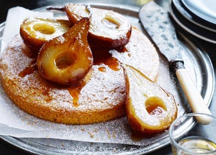 Amore di polenta (polenta cake)