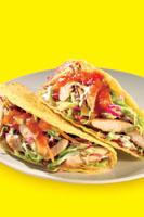 Chicken coleslaw tacos