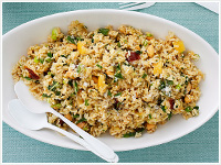 Moroccan rice salad