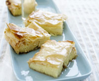 Greek custard pastries