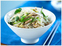 Pork with glass noodles