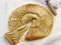 French low-fat apple tart