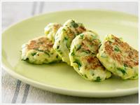 Zucchini and ricotta fritters