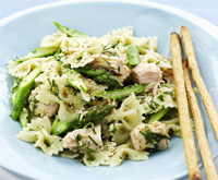 Tuna and lemon pasta salad