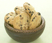 Nanny Tickner's chocolate chip cookies