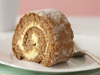 Honey sponge roll