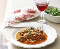 Lamb and bean stew