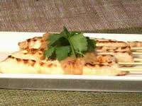 Chicken Satays With Peanut Sauce