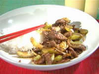 Beef And Black-Bean Stir-Fry