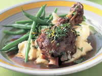 Lamb Shank Stew with Creamy Mash