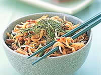 Beef and Black Bean Noodle Stir-Fry