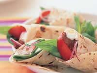 Tandoori Lamb Wraps