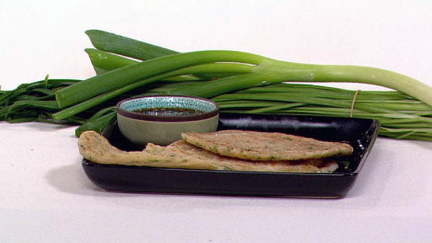 Green onion pancakes