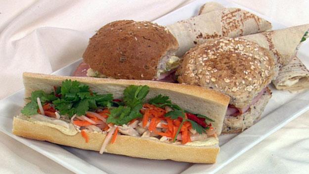 3 best sandwich ideas