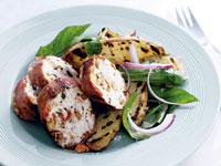 Mini meatloaves italian-style