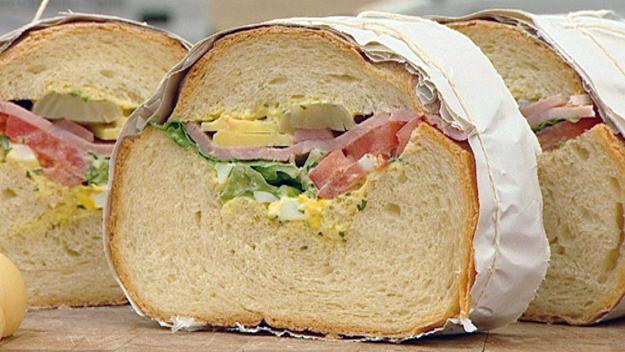 Ploughmans picnic loaf