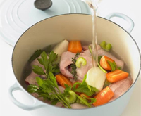 The ultimate chicken soup