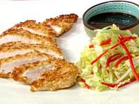Sesame chicken katsu