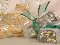 Panforte and Salty caramels