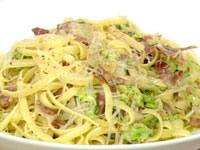 Zucchini and pancetta pasta